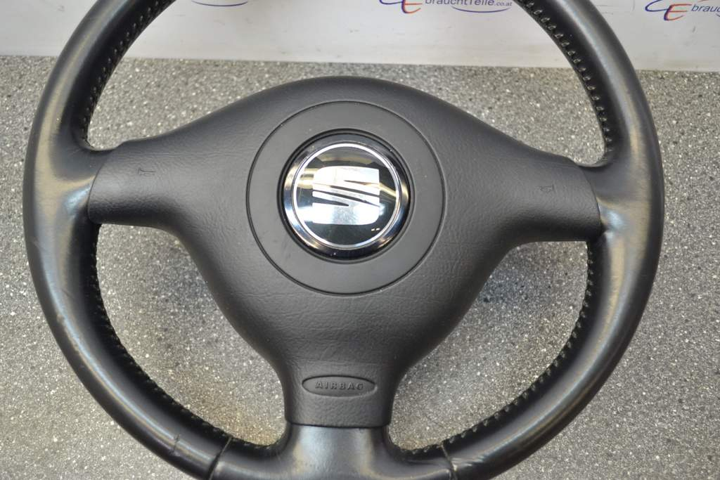 description sport steering wheel leather 3 spoke with a drivers airbag seat colour black e74 very good condition black note part number