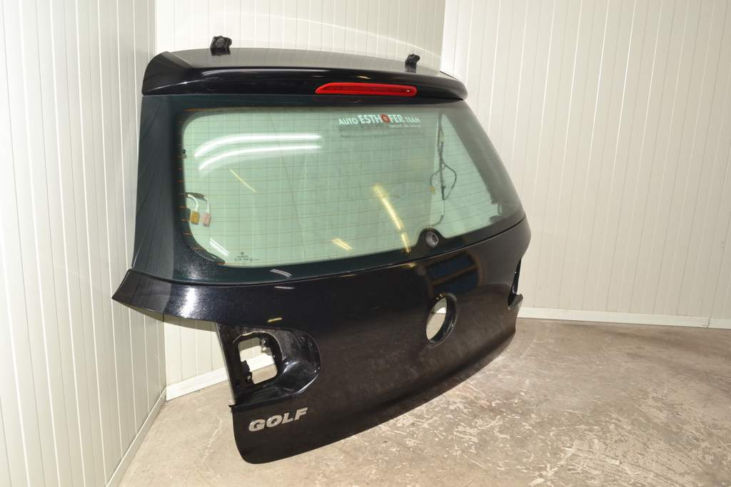 vw golf 6 1k 08 12 heckklappe heckdeckel schwarz lc9x. Black Bedroom Furniture Sets. Home Design Ideas