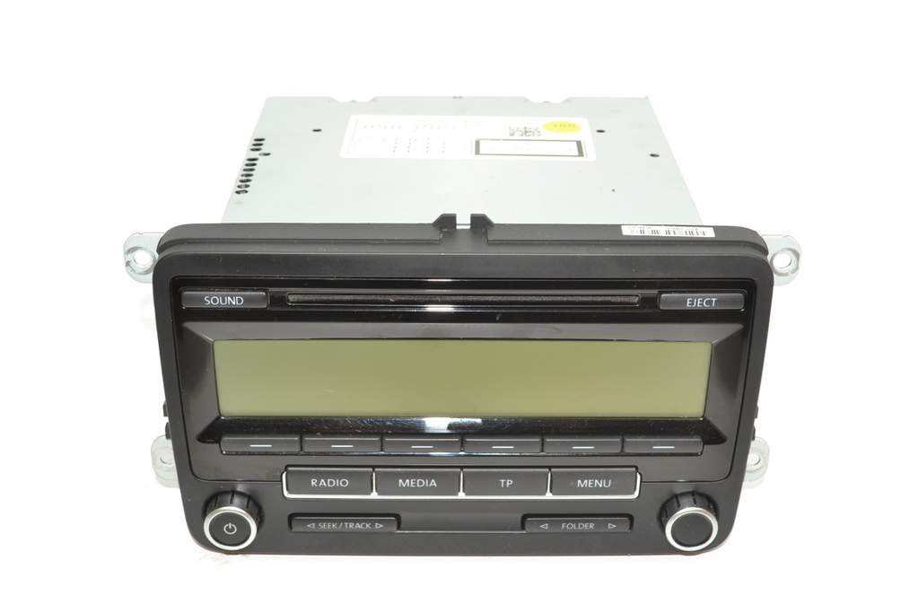 vw passat 3c 05 10 radio cd rcd 310 schwarz kaufen bei. Black Bedroom Furniture Sets. Home Design Ideas