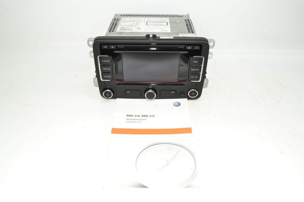 VW Amarok 2H 10-15 Navigation Navi navigation unit RNS 315 touchscreen