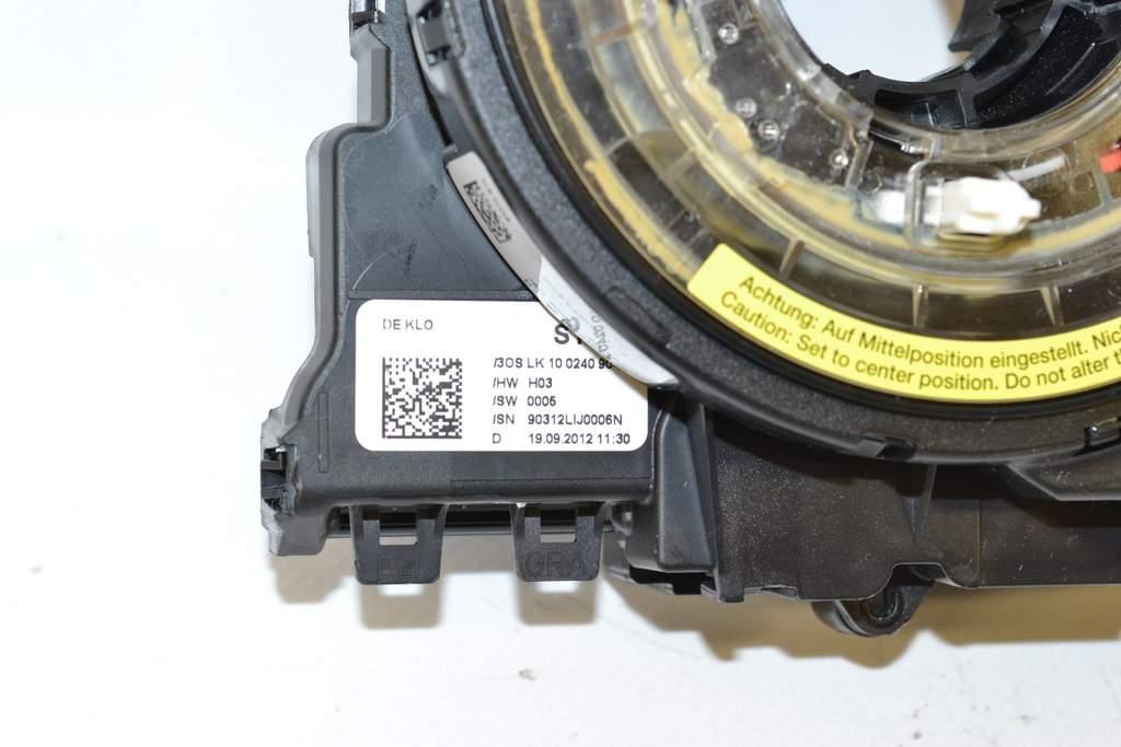 Audi A4 8K B8 12-15 Slip ring Airbag Steering wheel Electronics module  Steering angle Sensor