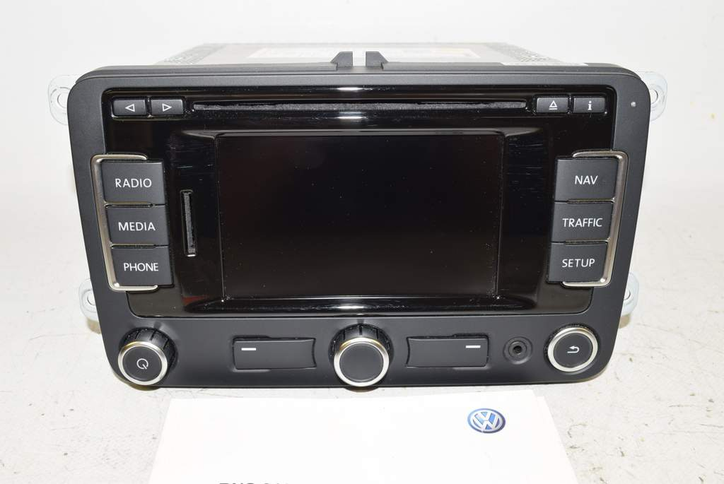 vw golf 6 1k 08 12 navigation navi gps radio cd rns 310 ebay. Black Bedroom Furniture Sets. Home Design Ideas