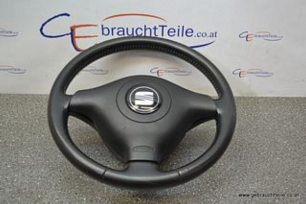 seat leon 1m 01 06 steering wheel sport steering wheel 3 sp black with