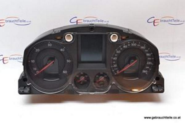 VW Passat 3C B6 05-10 Instrument cluster Speedo diesel manual transmission