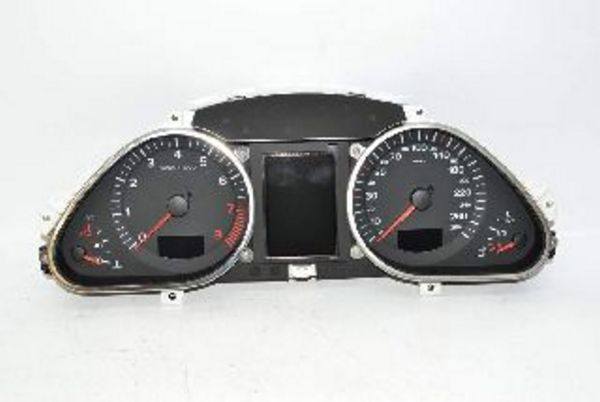 Audi A6 C6 4F 04-11 Instrument cluster speedometer fuel transmission 280  km/h