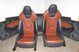 Audi A5 8T 07-12 Seat set S5 Leather seat seat heating electric